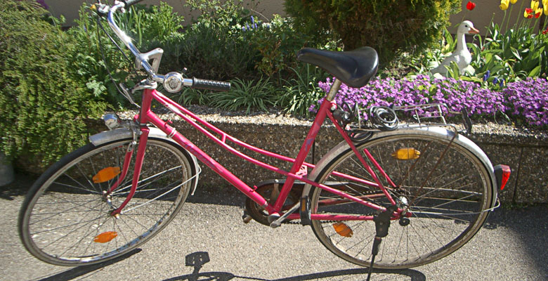 My pink bicycle